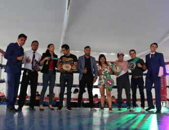 """Todo un éxito la función de box de la """"UBAM"""" organizada por el comité de carrera de Cultura Física y Educación del Deporte"""