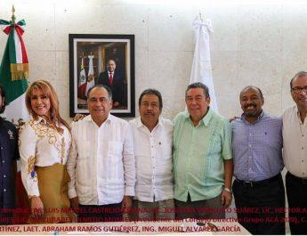 El gobernador Héctor Astudillo invitado especial de Grupo ACÁ a la toma de protesta de la directiva, 2020