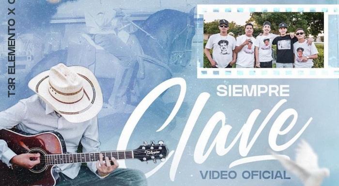 """T3R ELEMENTO Y CLAVE 702 LANZAN EL TEMA Y VIDEO DE """"SIEMPRE CLAVE"""","""