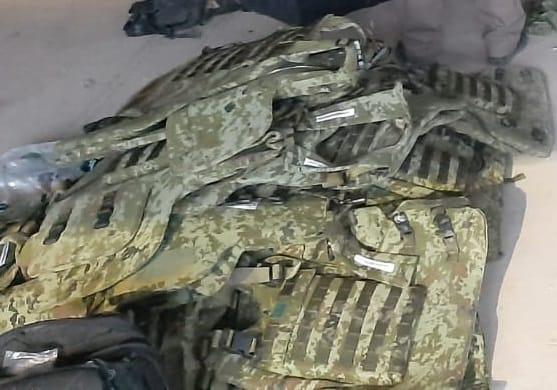 Decomisa FGR arsenal del CJNG en San Sebastián de Oeste, Jalisco