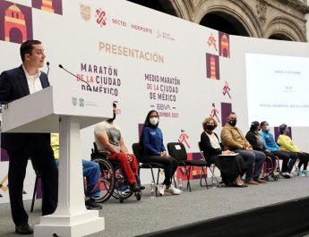 EL 28 DE NOVIEMBRE SE CORRERÁ EL MARATÓN DE LA CIUDAD DE MÉXICO TELCEL 2021